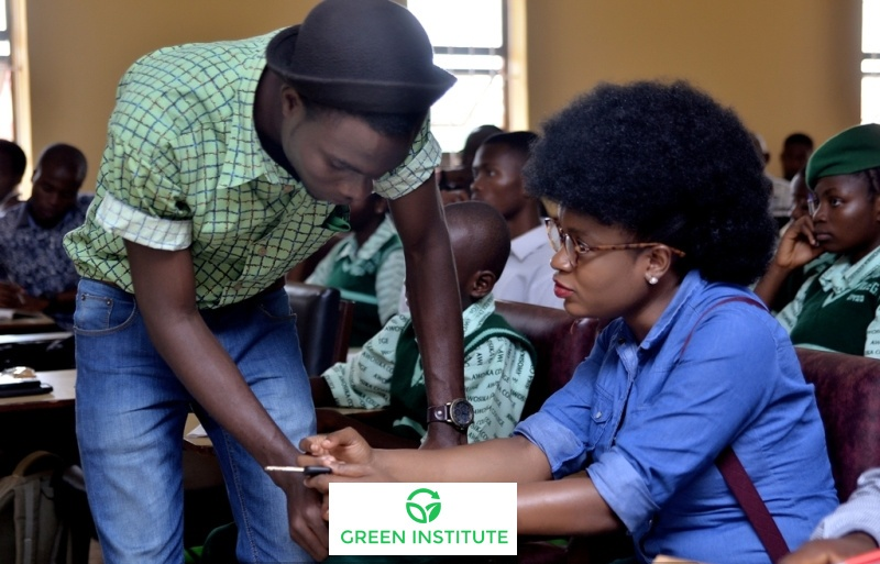 Adenike Akinsemolu, founder of the Green Campus Initiative