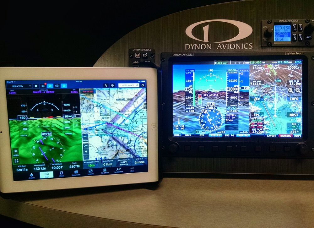 Mobile device connectivity comes to SkyView withForeFlight and PocketFMS. Transfer flightplans overWi-Fi and more...