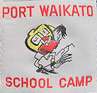 Port Waikato School Camp.