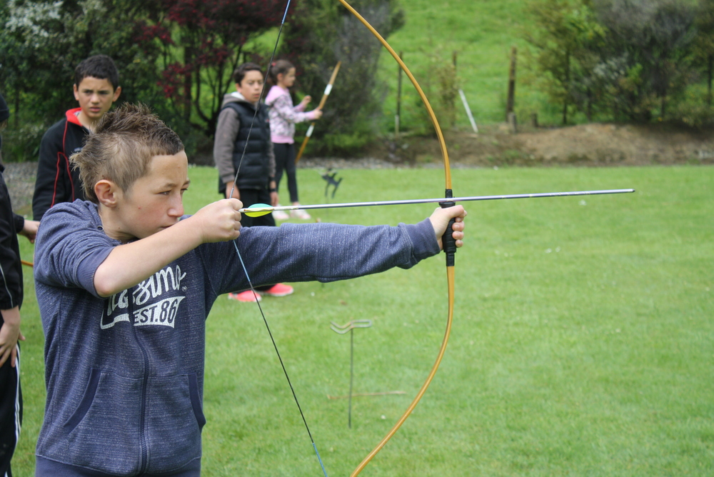Archery is one of our most popular activities. Four targets are available with full sets of bows and arrows.