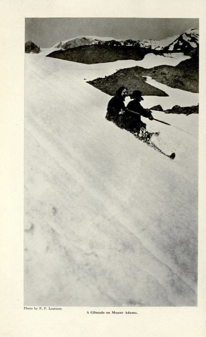 Photo by Fred Luetters.  Mount Adams, Oregon, 1913.
