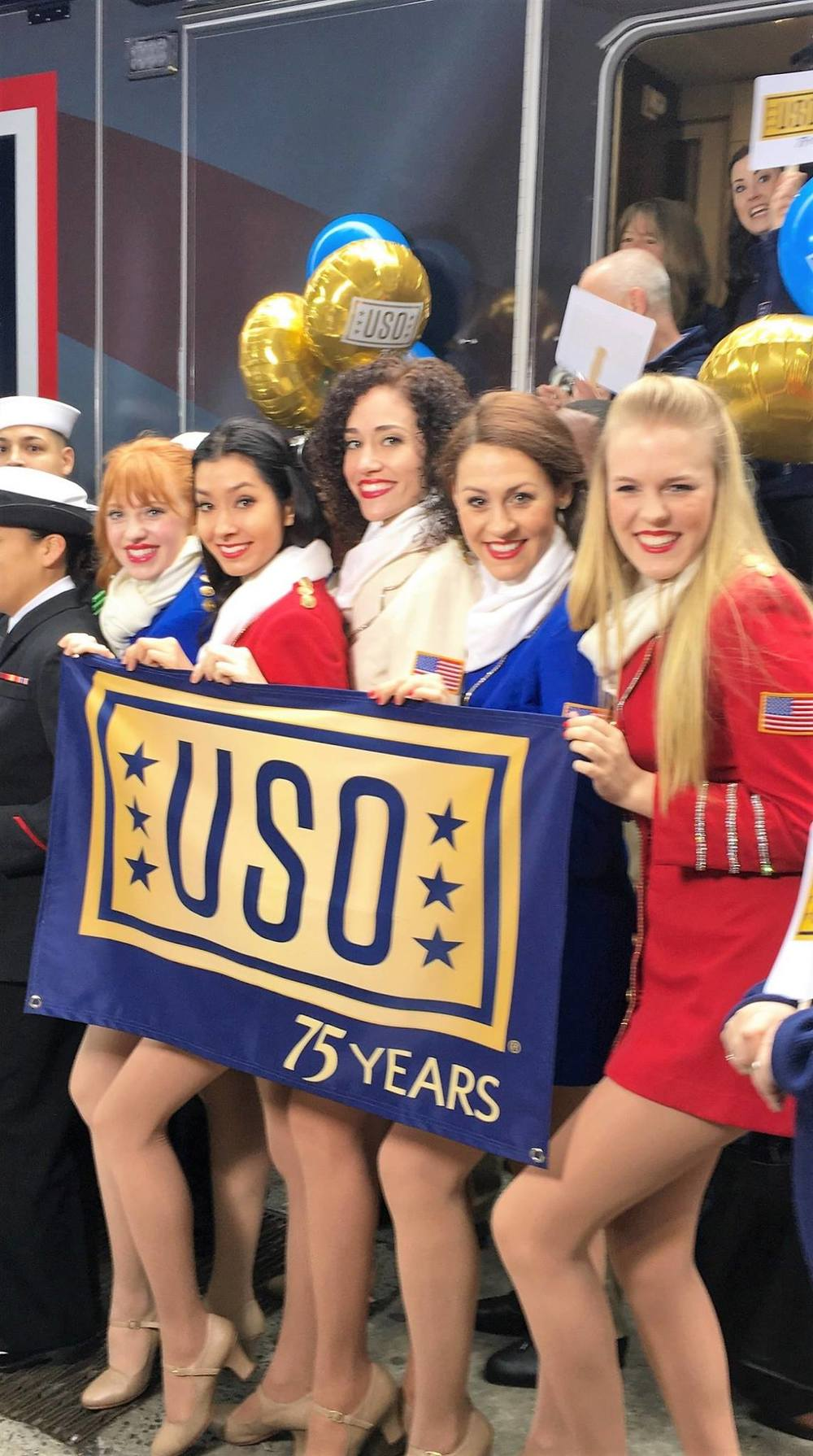 Good Morning America with the USO Show Troupe