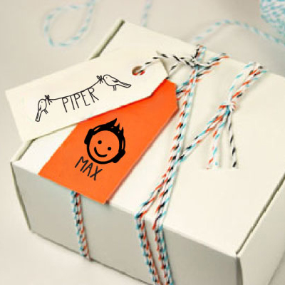 + view stampable gift tags