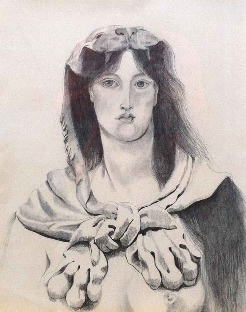 Venus Leo (after Rossetti)