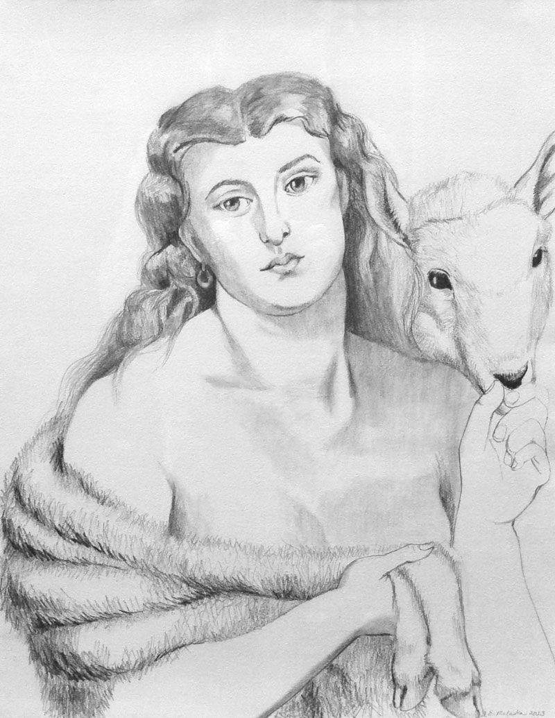 Venus Agnus (after Rossetti)