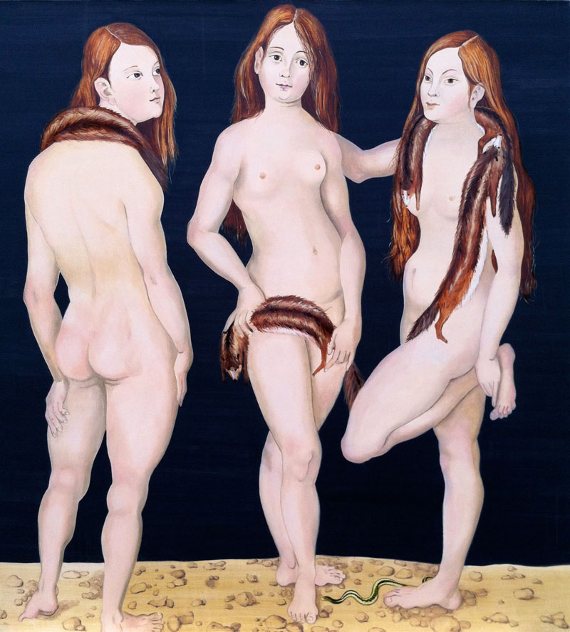 Venus Mustela (after Cranach)