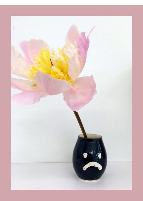 Eliza Fernand frown vase ($25)