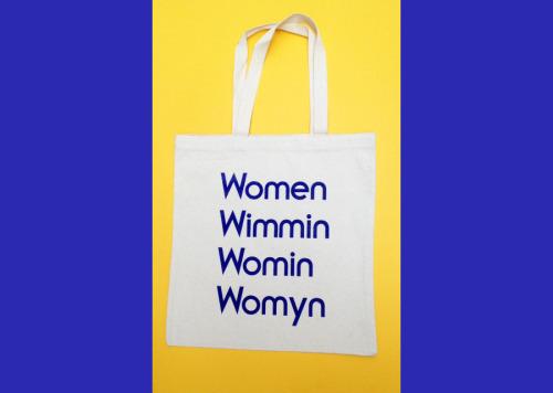 WWWW tote bag by MODERNWOMEN LA ($20)