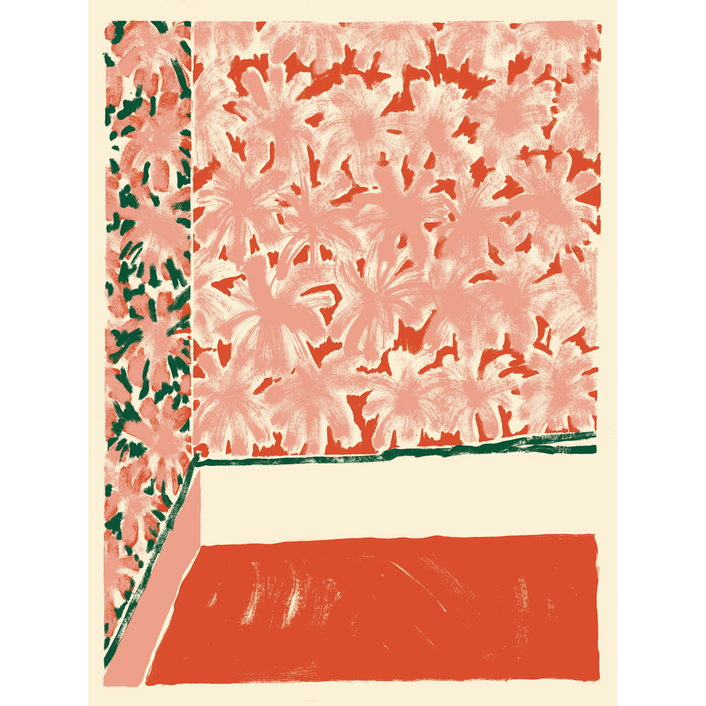 Annie McLaughlin, Untitled, 2017, silkscreen print (ed.100), 24 x 18""