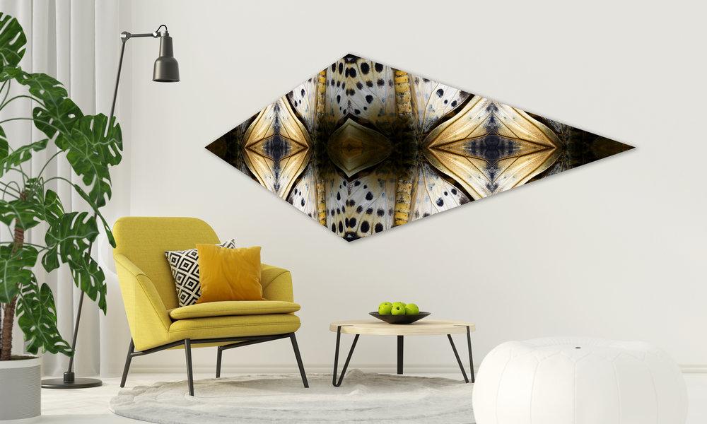 © 3D Butterflies Composition No.3