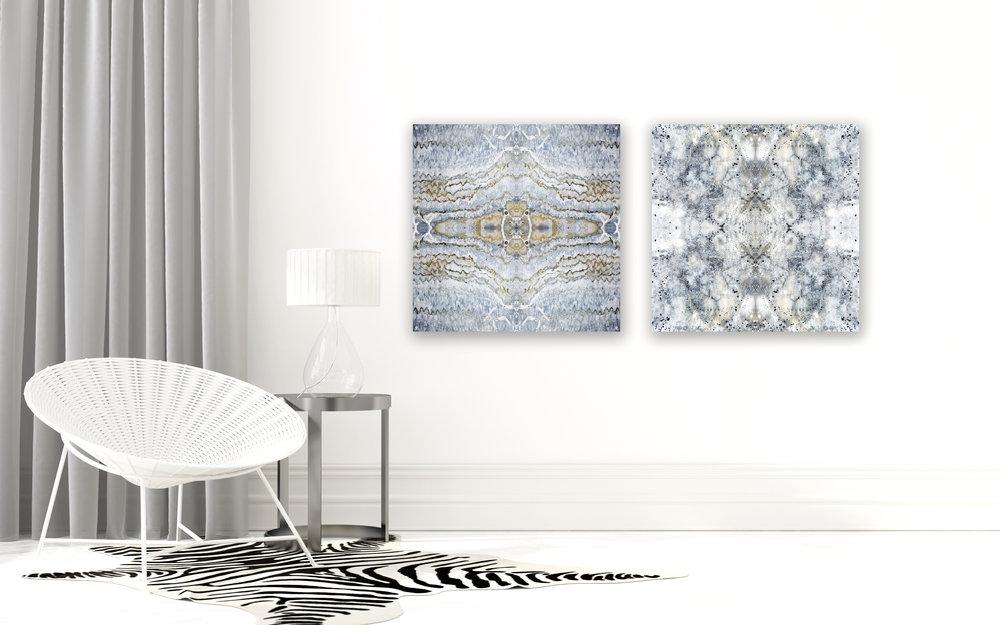 © Seashells Compositions No.908 & 911