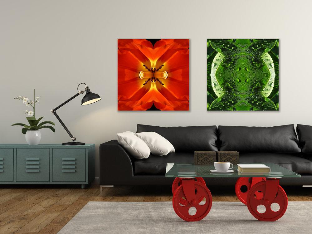 © Tulips Compositions No.126 & Leaf Composition No.803
