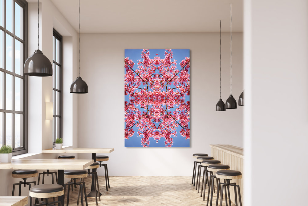 © Cherry Blossoms Composition No.205