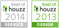 Best of Houzz badges