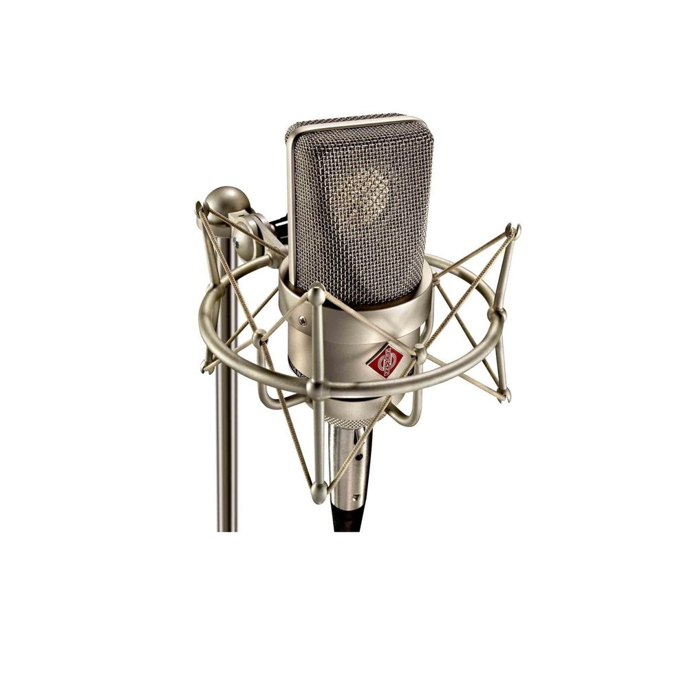 Neumann TLM 103 Microphone Bundle - The Neumann is the microphone I use the most.  It's perfect for my voice in any genre and really picks up the nuances and idiosyncrasies.  The majority of the studios I work with have this microphone, so it's definitely worth the investment.