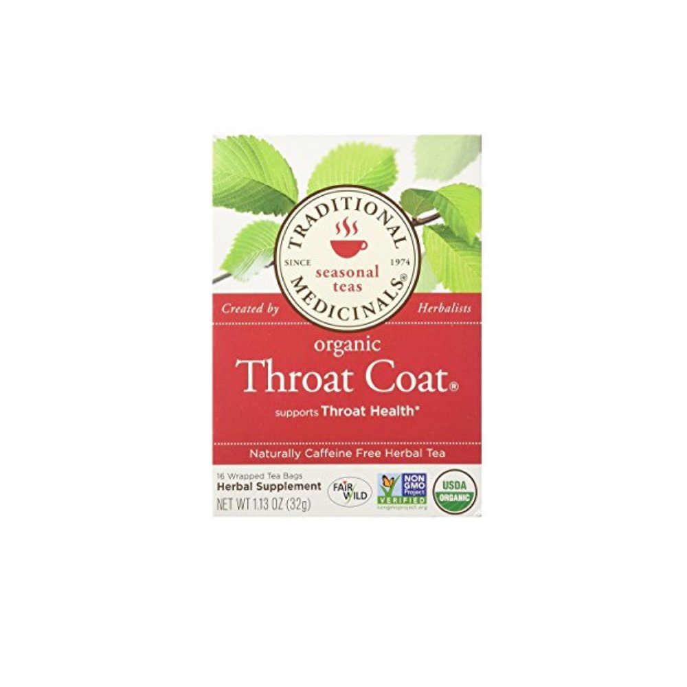 Throat Coat Tea - Bring a cup of this bad boy into a session and you'll be good to go.  Sip between takes or during a break to keep your throat comfortable.