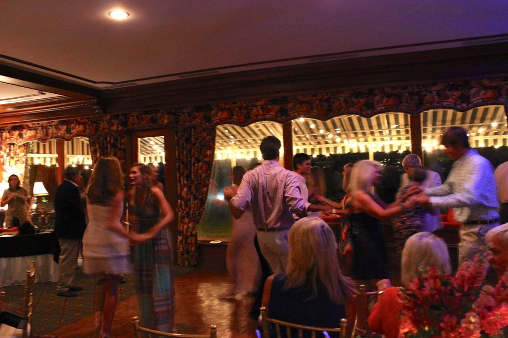 Plenty of dancing
