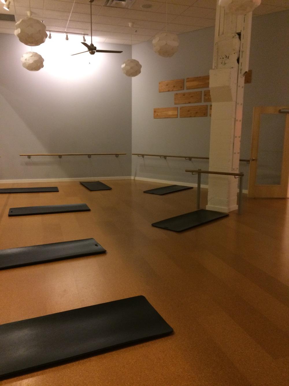 Barre 3 studio room