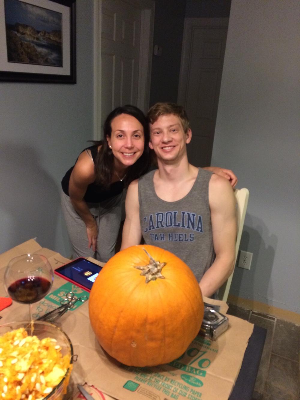 Caitlin and Paul