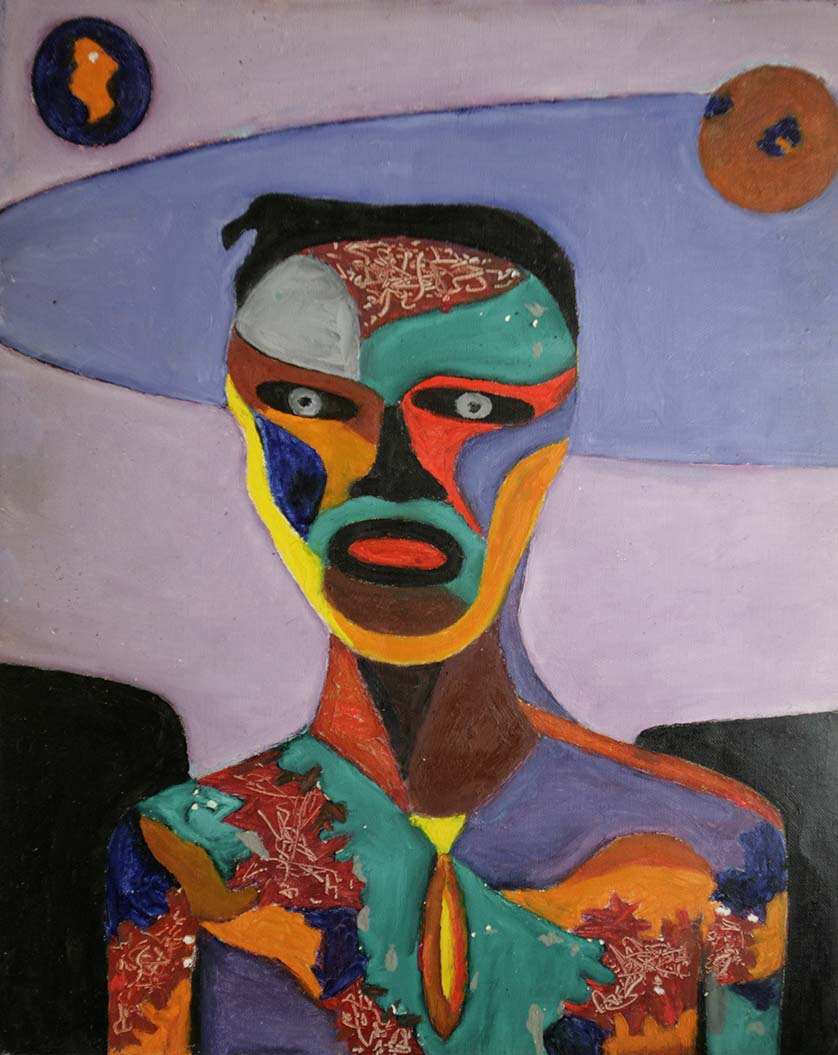 abstract portraits norman klenicki