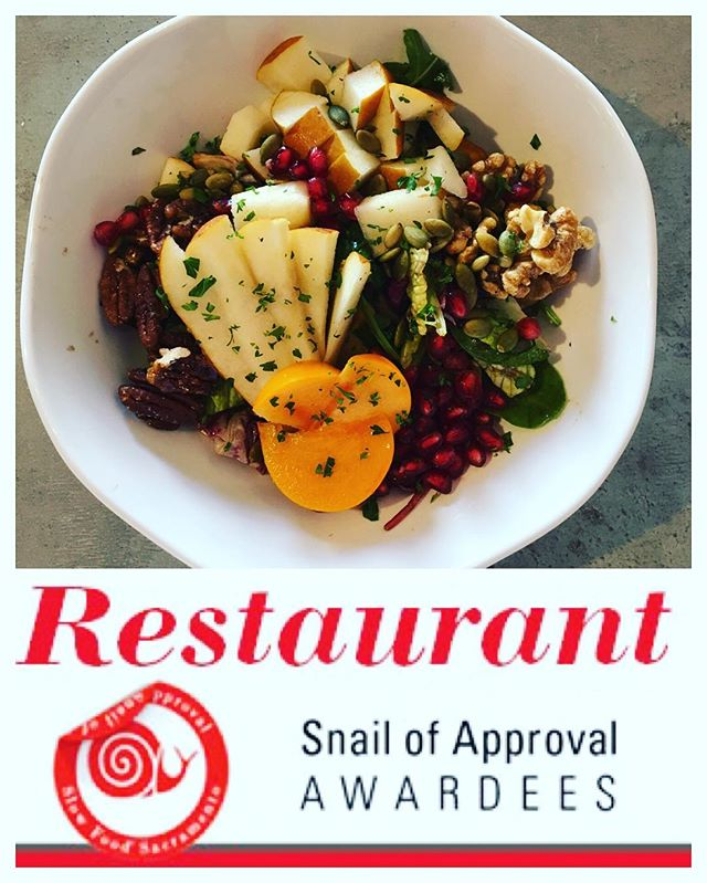 We are so proud to announce we are among the awardees for the #SlowFood Snail of Approval from @slowfoodsac ! Click the link in our bio for details and a hiring announcement 😍😁 @slowfoodusa