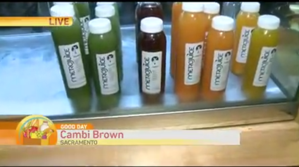 Good Day Sacramento Feature on   Metro Kitchen + Drinkery . Watch.