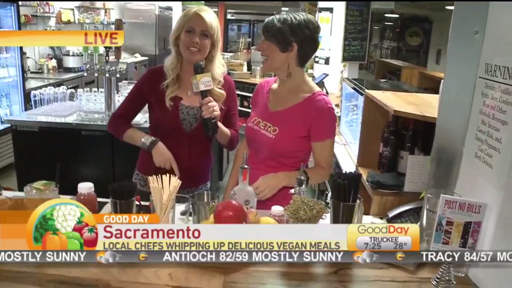 Good Day Sacramento: Vegan Chef Challenge.  Watch.