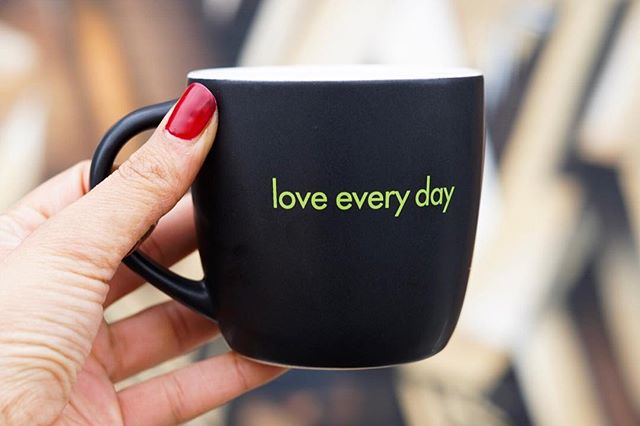 Some days are easier to love after coffee ☕️😂 #loveeveryday #butfirstcoffee #sacramento