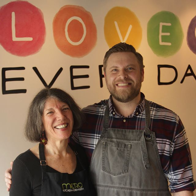 Tomorrow is the last day to love on @metrokitchenanddrinkery! Today we celebrate our team, past, perpetual, and present! From the bare beginnings to the bittersweet end, we could not have done any of this without them. #sacramento #walpublicmarket #loveeveryday ❤️❤️