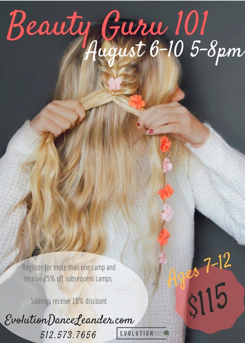 Beauty Guru 101 - All things hair, makeup, and more! Join us as we learn different types of braids, make up styles, and self care taking your style to the next level!
