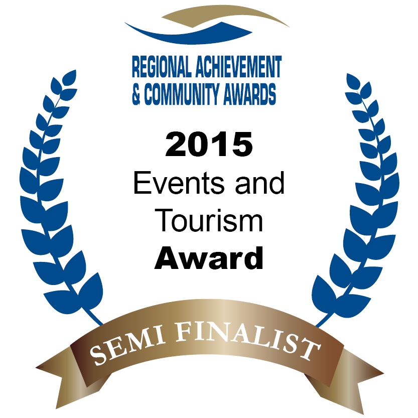 Semi Finalist in the 2015 Western Australian Regional Achievement & Community Awards