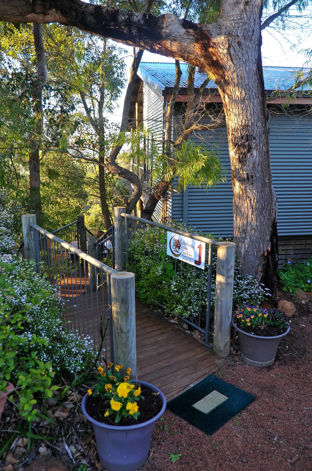 Stairway to HideAway Haven luxury accommodation in Albany Western Australia