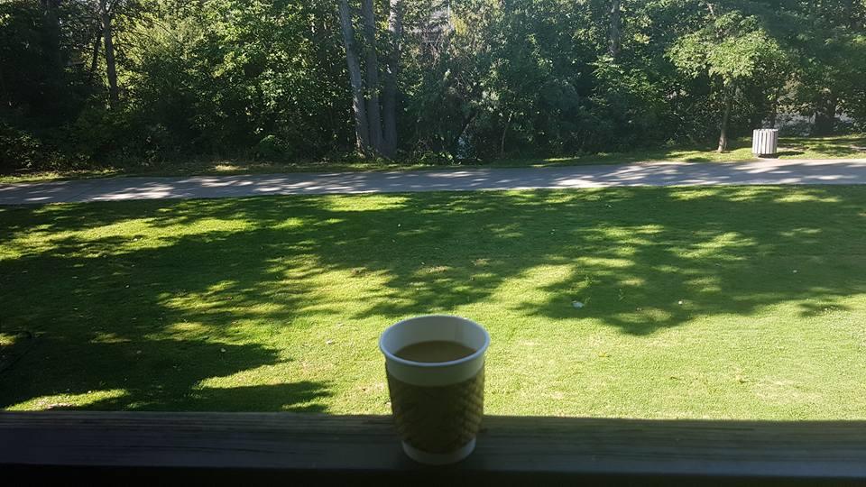 Morning Coffee time is better at HideAway Haven, Albany Western Australia