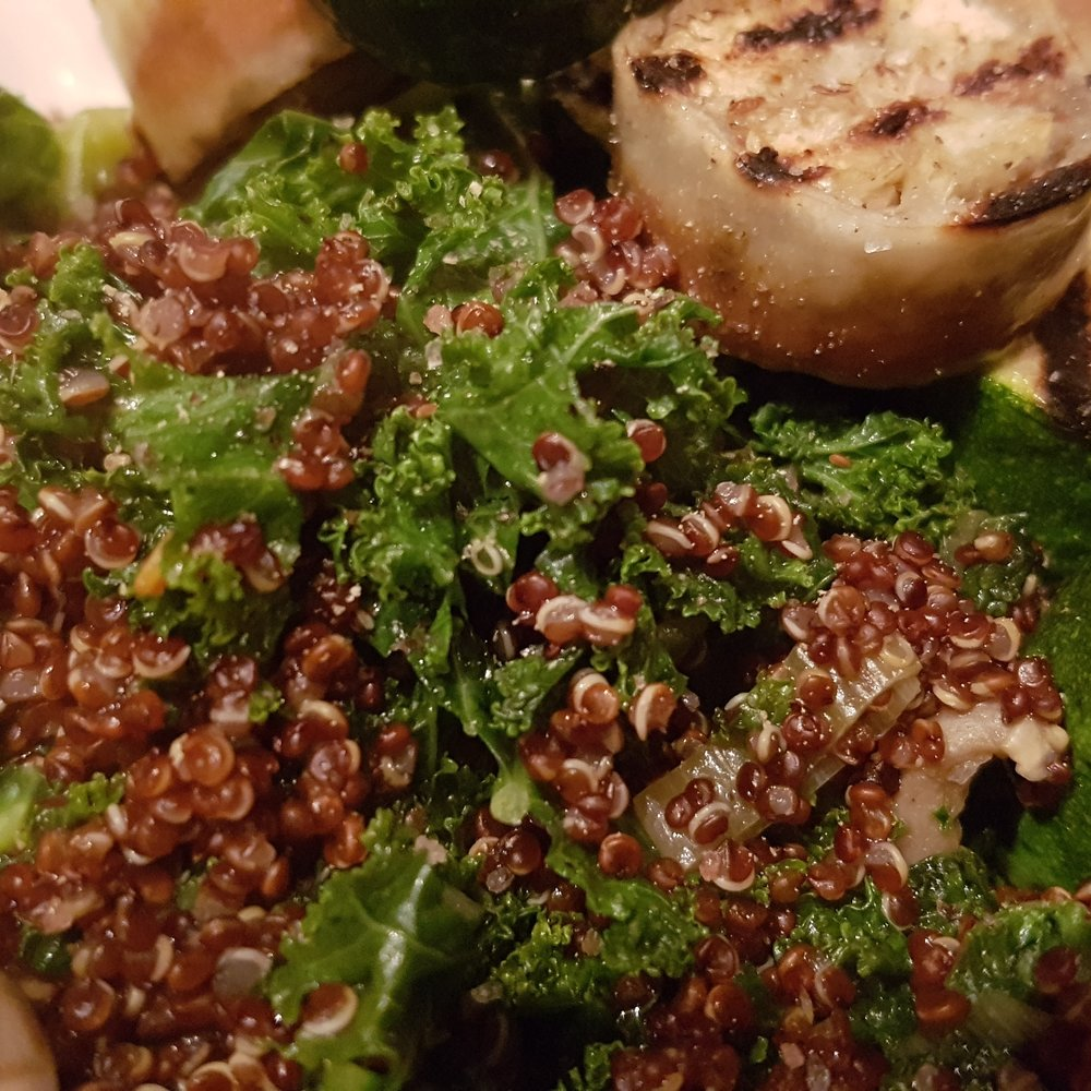 Quinoa Farmers Market Bowl at HideAway Haven