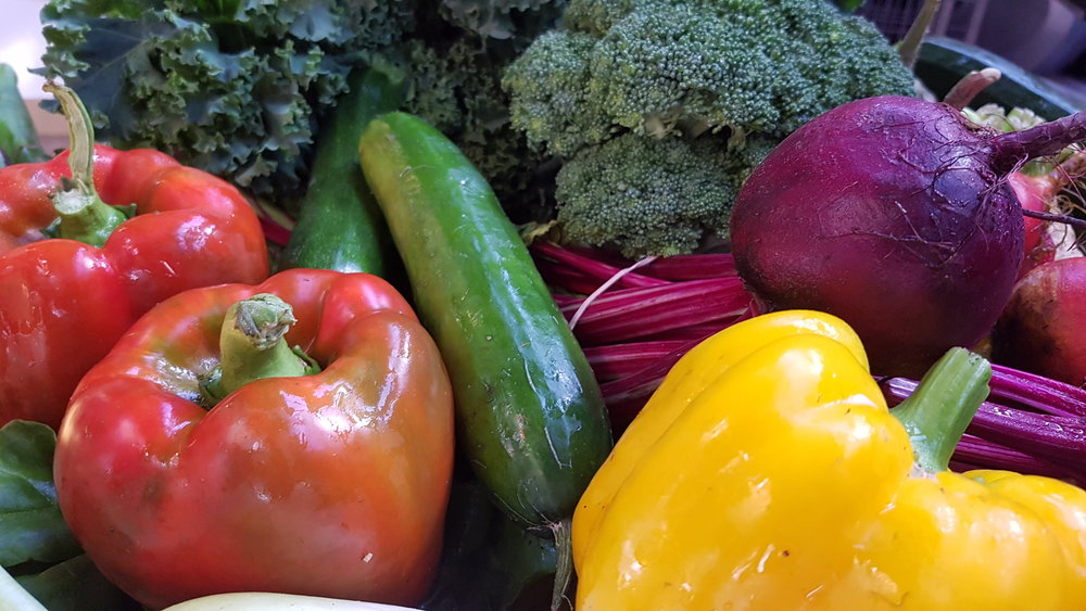 Farmers Markets Produce at HideAway Haven