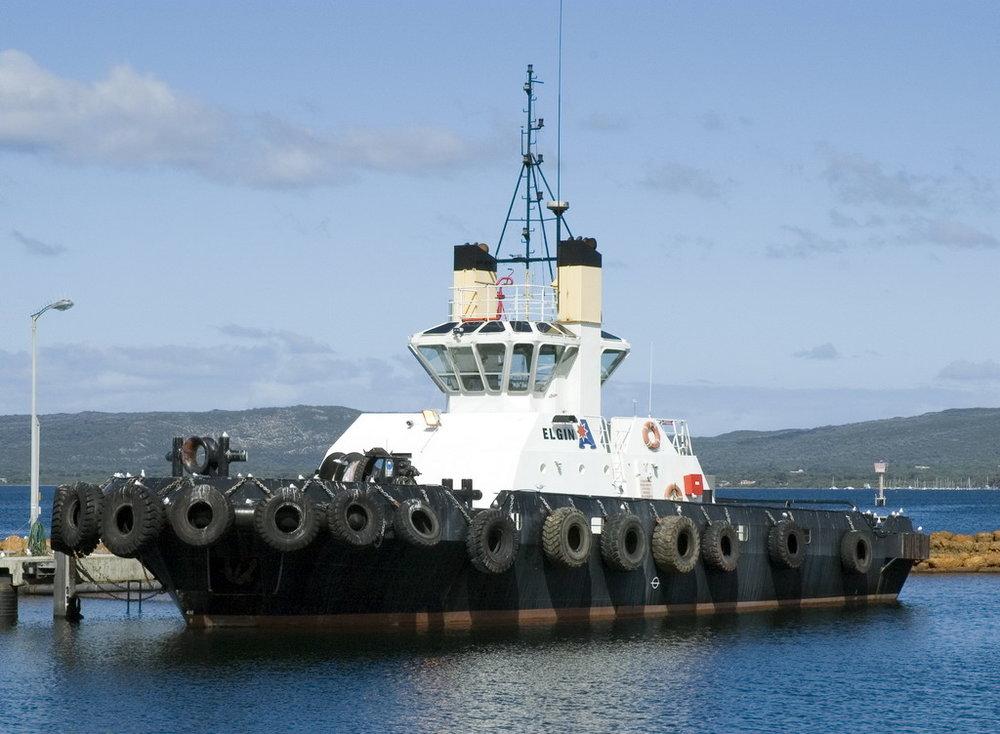 Albany Tug boat Elgin   Image Credit: Nachoman