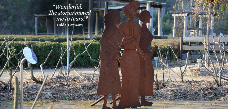 The Three Women's stories are such a special way to uncover the experiences of local Noongar, English and Italian women over the 20th Century. Photo: Wendy Thorn.