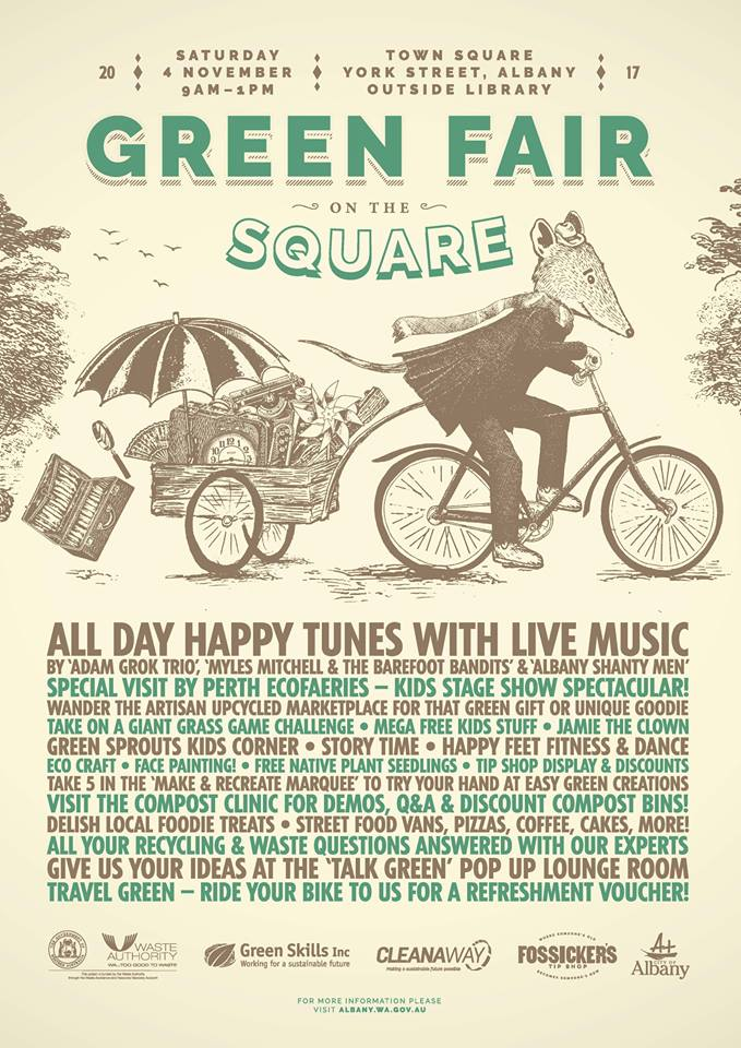 Green Fair on the Albany Square