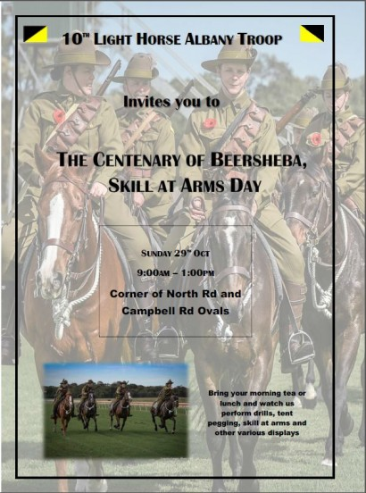 10th Light Horse Albany Troop - The Centenary of Beersheba, Skill at Arms Day.JPG