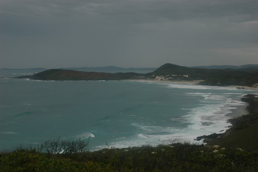 View of the south coast of  Western Australia , from the  Bibbulmun Track , between Denmark and Peaceful Bay.