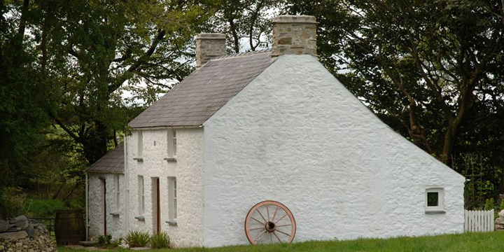 An authentic traditional Welsh Cottage