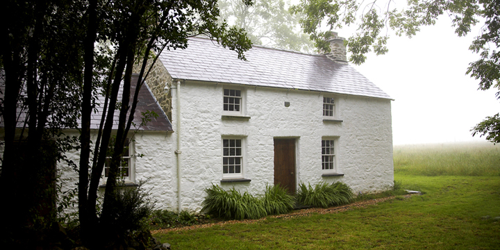 Bryn Eglur is a traditional Welsh Cottage, as featured in Channel 4.