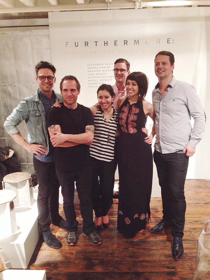 From left: Alex Kuzio, Jude Hughes, Mariel H. Manzur, Brandon Walker, Andrea Parikh, Kjartan Oskarsson.