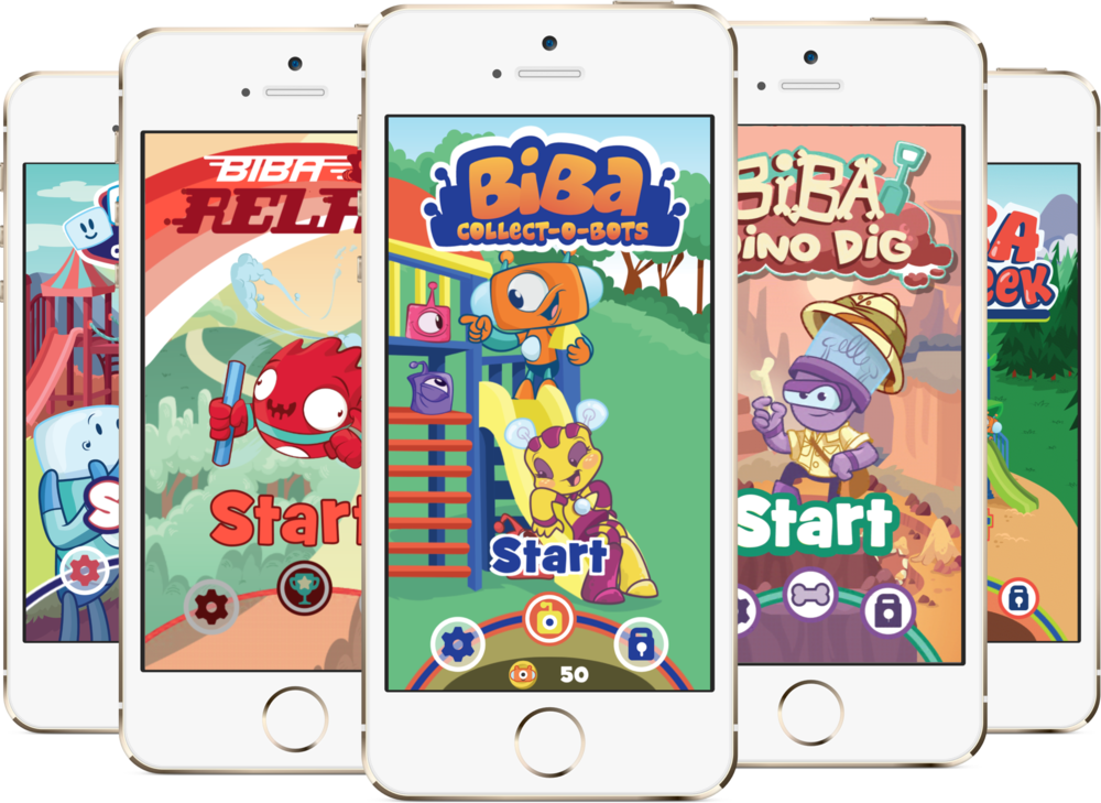 Biba: A Suite of Mobile Games to Get Kids More Active on Playgrounds