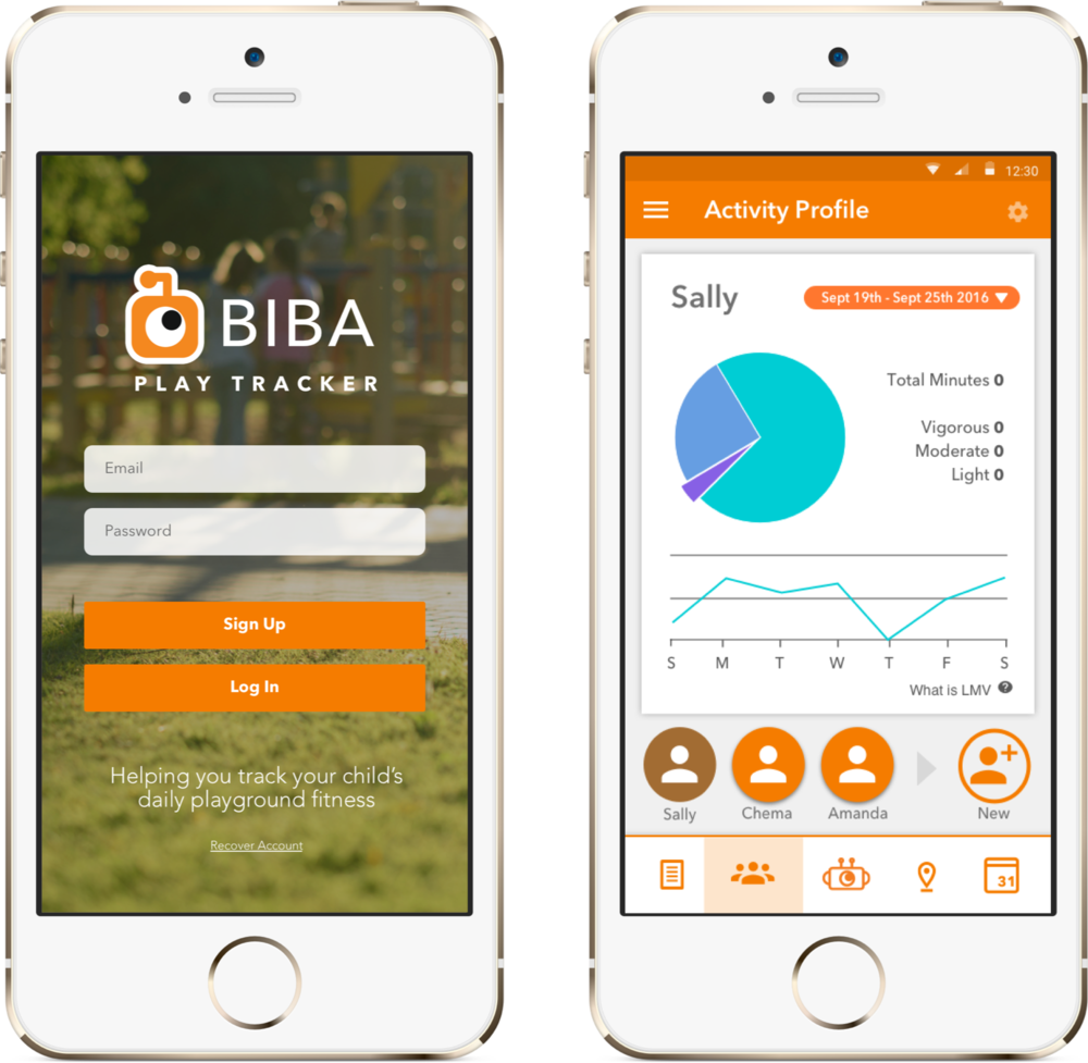 Biba PlayTracker: Family Playground Finder and Activity Tracker