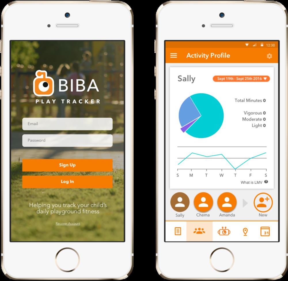 Biba PlayTracker: Family Playground Finder and Activity Tracker