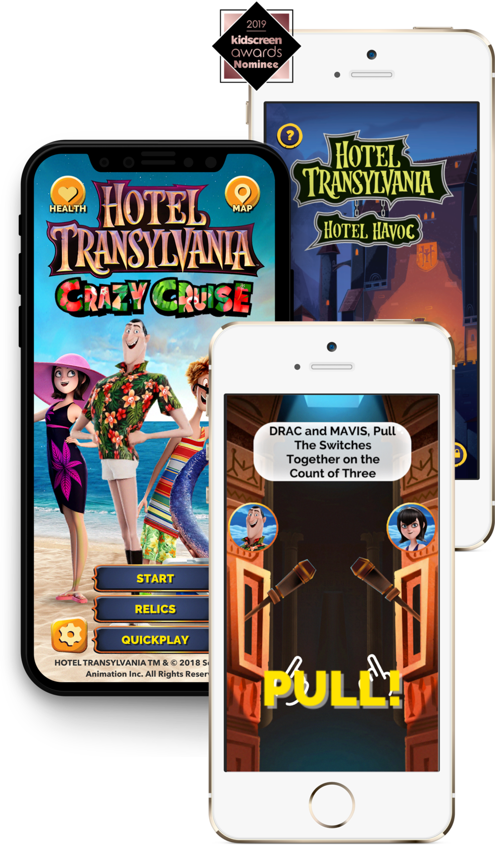 Hotel Transylvania Suite of Playground Games