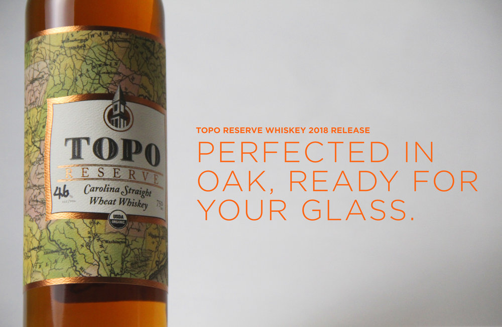 NEW FOR 2018: TOPO RESERVE CAROLINA STRAIGHT WHEAT WHISKEY