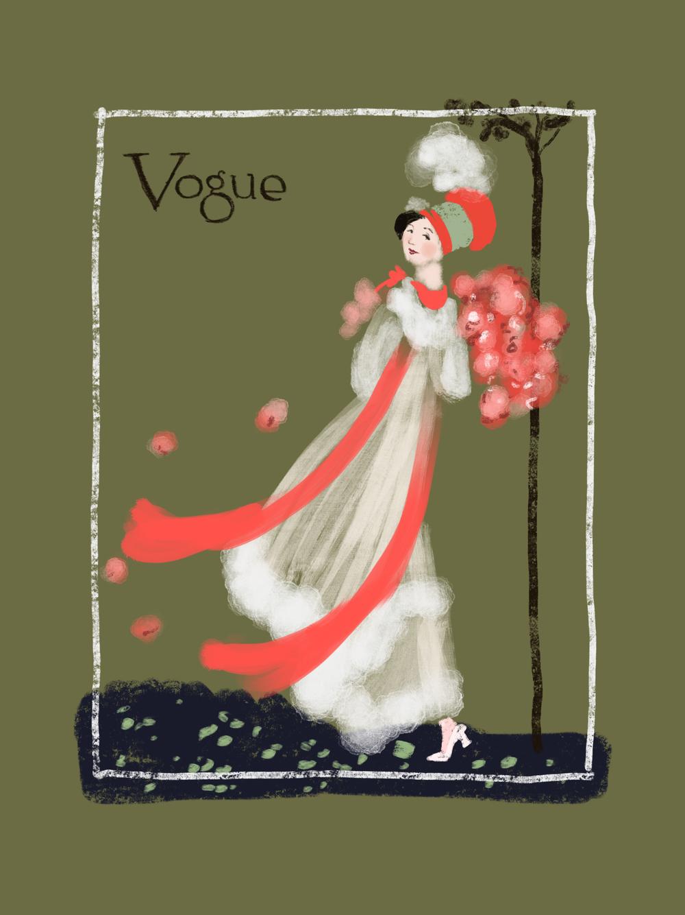 VINTAGE VOGUE COVER SERIES