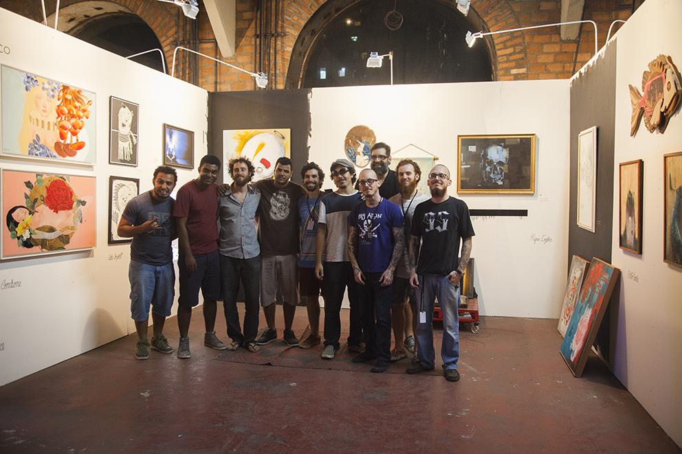 Nossa pequena grande família de Art Rua. Um dia a gente consegue reunir todo mundo (clique para aumentar).